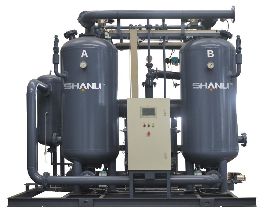 零气耗圧缩热再生吸附式压缩空气干燥机
