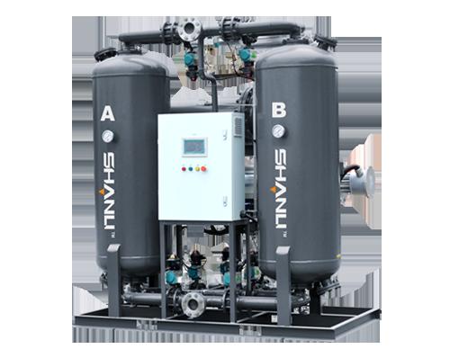 有气耗鼓风热再生吸附式压缩空气干燥机
